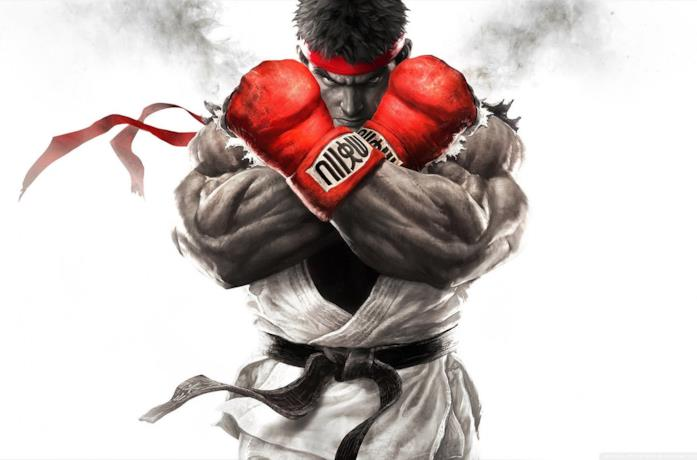 Ryu in Street Fighter V