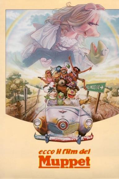 Poster Ecco il film dei Muppet