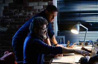 Andy Serkins e Tom Hardy