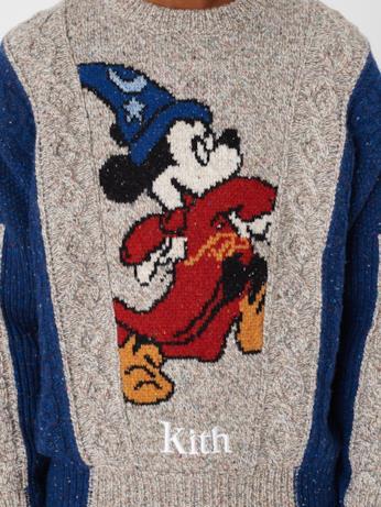 Maglione bicolore KITH x Disney