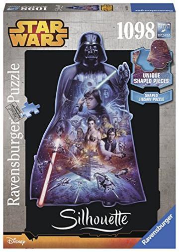 Ravensburger 16158 - Darth Vader Puzzle, Silhouette