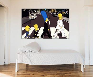 The Simpsons Beatles