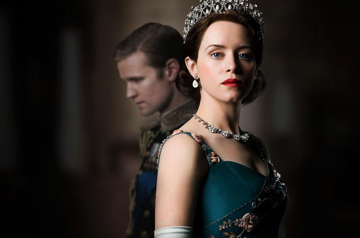 L'attrice Claire Foy è Elisabetta II in The Crown