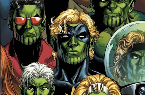 Gli Skrull dei fumetti