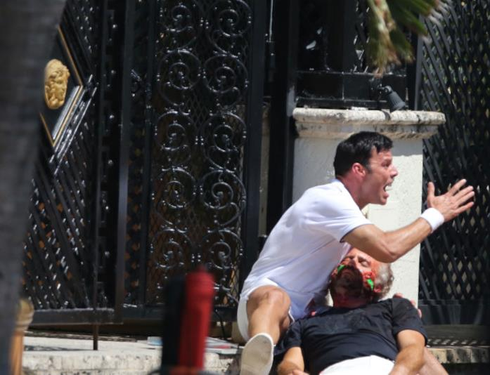 Ricky Martin ed Édgar Ramírez in American Crime Story: L'assassinio di Gianni Versace