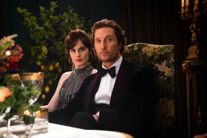 Matthew McConaughey in una scena del film The Gentlemen