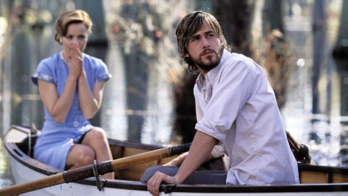 La scena della gita in barca di Noah e Allie ne Le pagine della nostra vita