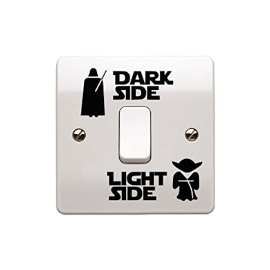 Adesivo per interruttore della luce, in vinile