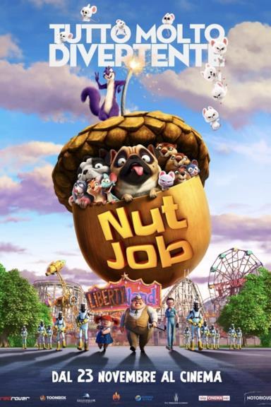 Poster Nut Job - Tutto molto divertente