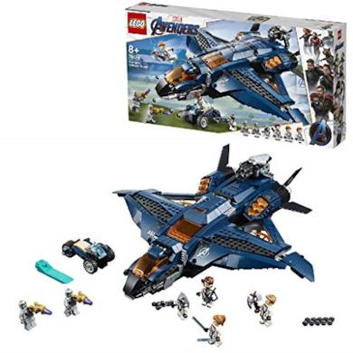 LEGO Super Heroes L'Ultimate Quinjet degli Avengers