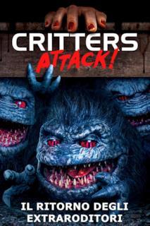 Poster Critters Attack! - Il ritorno degli extraroditori