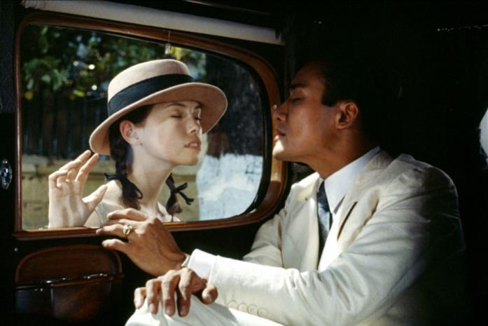 Tony Leung Ka Fai e Jane March in L'Amante
