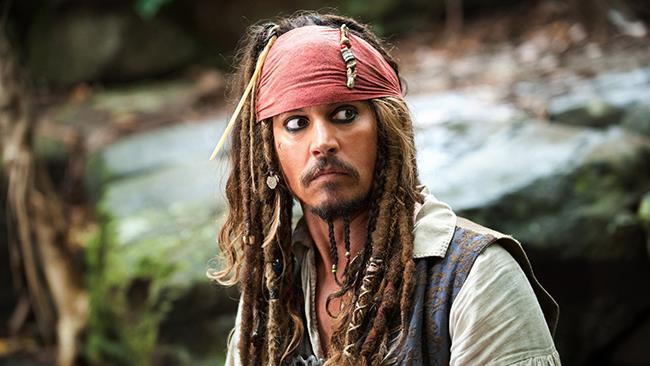 Un'immagine che ritrae Johnny Depp nei panni di Jack Sparrow