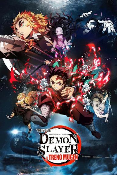 Poster Demon Slayer - Il treno Mugen