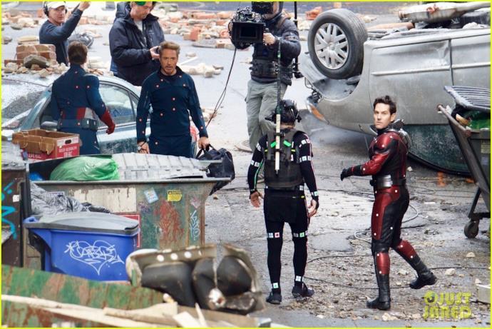 Paul Rudd si accorge del fotografo sul set di Avengers 4?