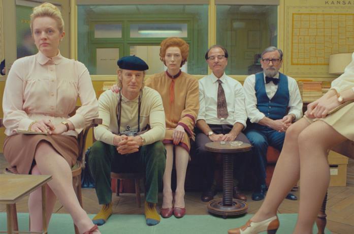 Il cast di The French Dispatch