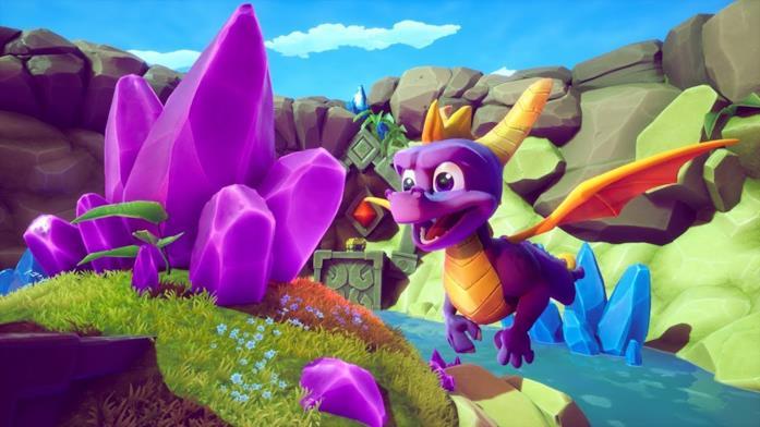 Spyro in volo in Spyro: Reignited Trilogy