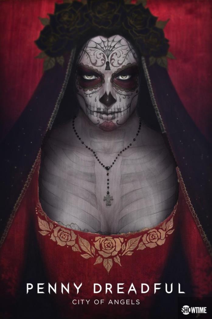 Poster della prima stagione di Penny Dreadful: City of Angels