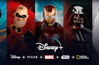 Immagine promozionale del servizio di streaming Disney+