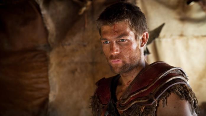 Liam McIntyre in Spartacus