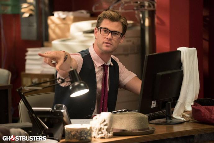 Anche Chris Hemsworth nel cast del reboot di Ghostbusters