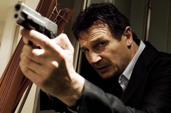 Liam Neeson è Bryan Mills in Taken
