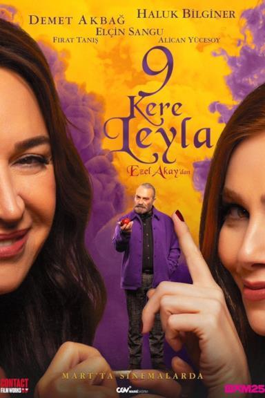 Poster 9 vite come Leyla