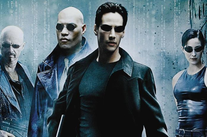 Il poster del primo The Matrix