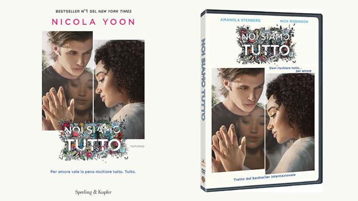 I protagonisti di Noi siamo tutto sulle cover di libro e film