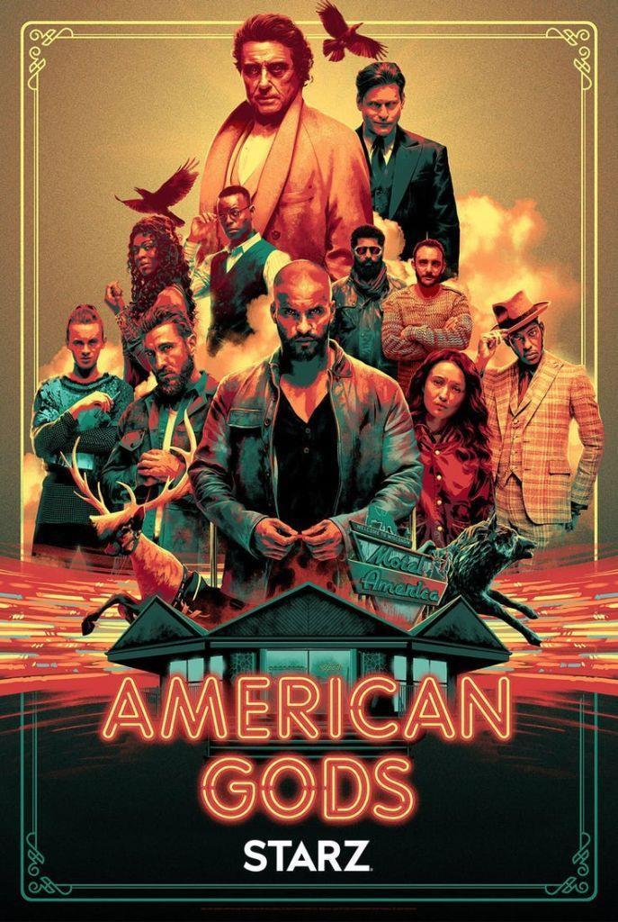 Ecco il poster della seconda stagione di American Gods