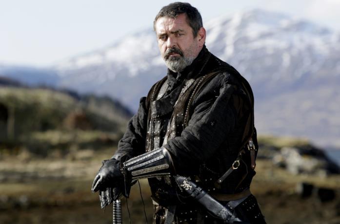 Angus Macfadyen nei panni del re scozzese Robert I