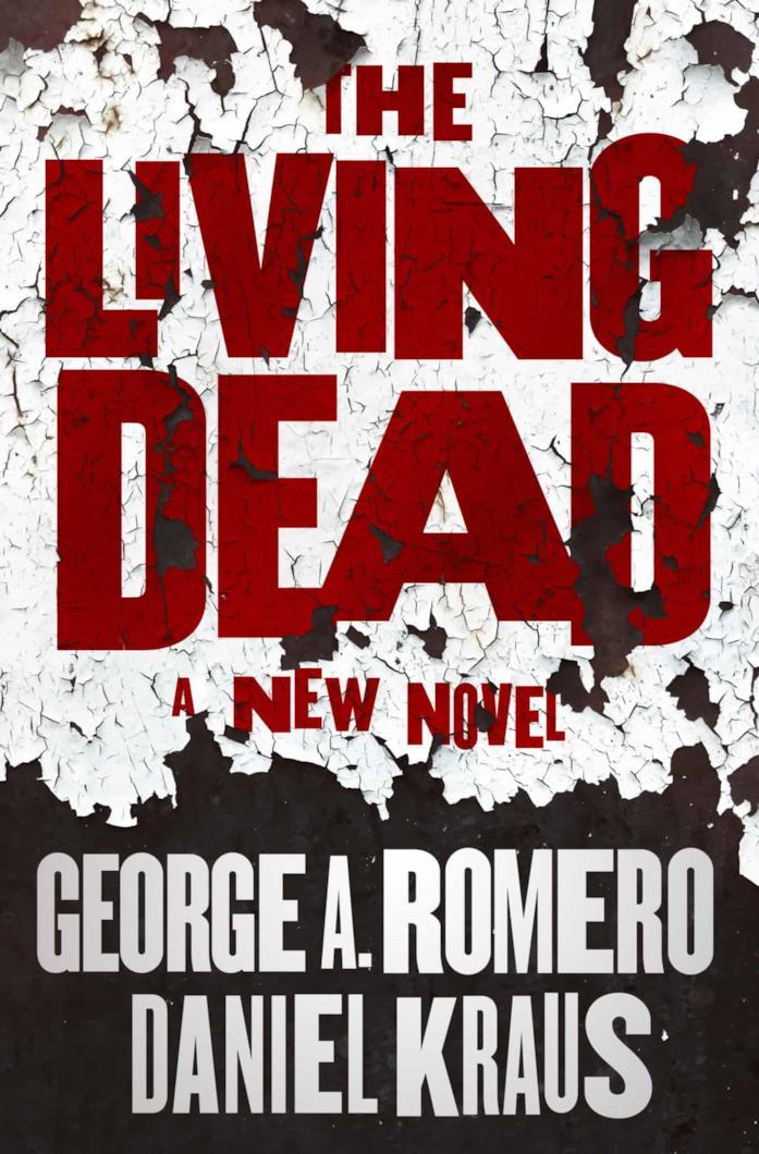 La copertina del libro The Living Dead