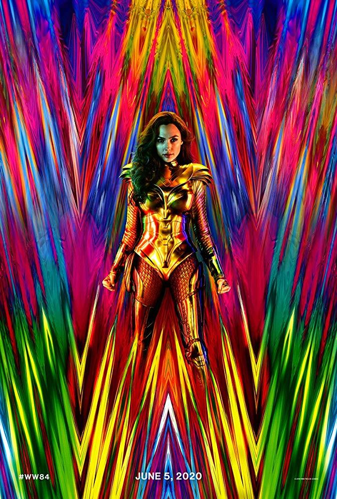 Il poster di Wonder Woman 1984
