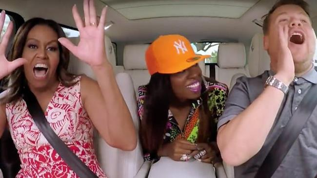 Carpool Karaoke, Michelle Obama e Missy Elliott