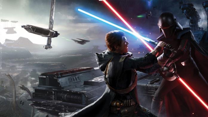 Azione e spade laser in Star Wars Jedi Fallen Order
