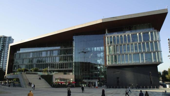 L'edificio utilizzato come ospedale della serie