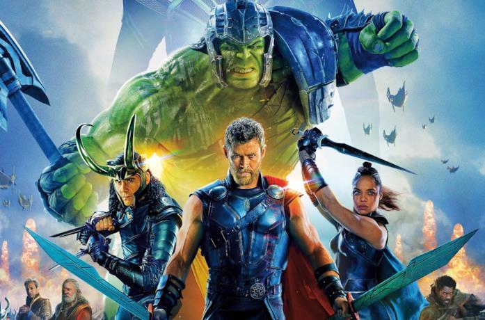 I protagonisti di Thor: Ragnarok