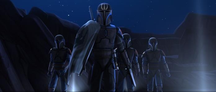 La Ronda della Morte nell'episodio The Mandalore Plot di Clone Wars