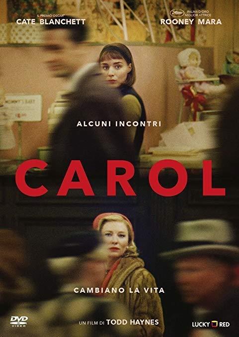 Copertina DVD Carol