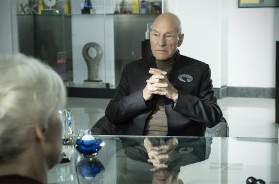 Una scena di Star Trek: Picard