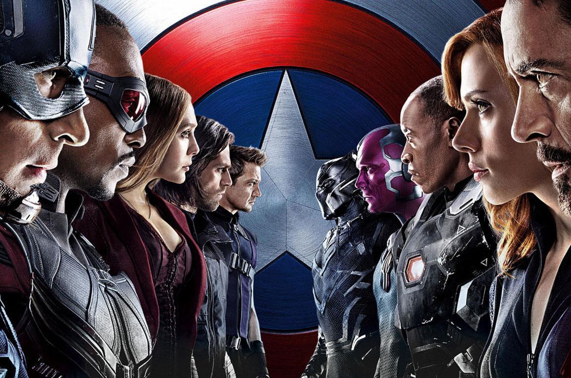 Il poster di Civil War
