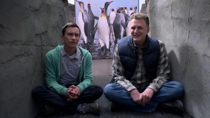 Doug chiede a Sam di portarlo con sé in Antartide