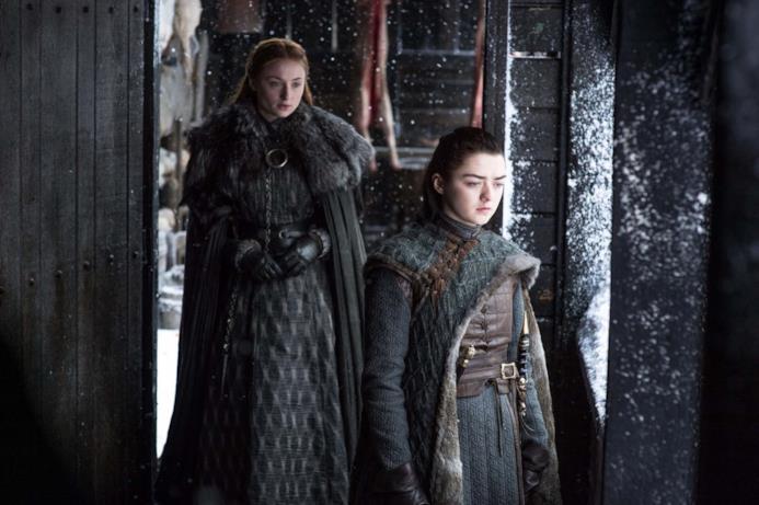Arya dà le spalle a sua sorella Sansa