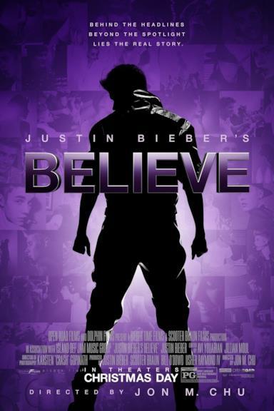 Poster Justin Bieber's Believe