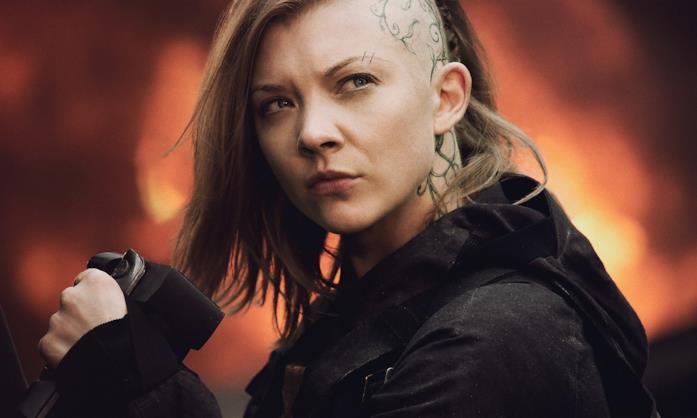Natalie Dormer nella saga di Hunger Games