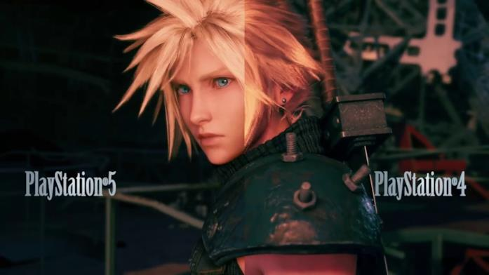 Final Fantasy 7 Remake Intergrade su PS5