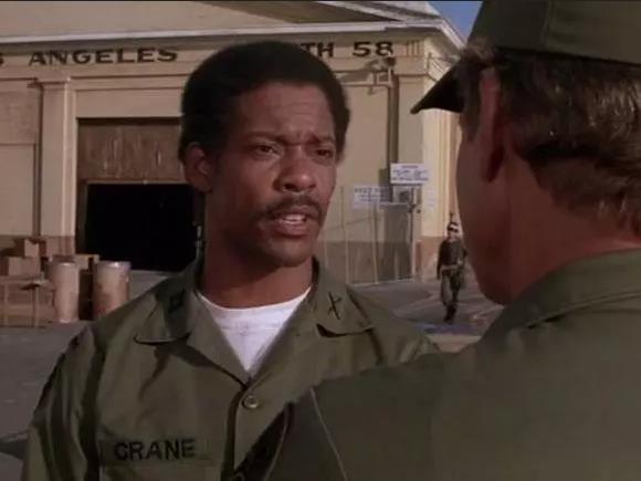 Il capitano Crane, personaggio di A-Team