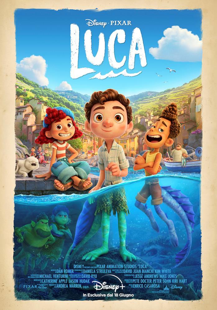 La locandina di Luca