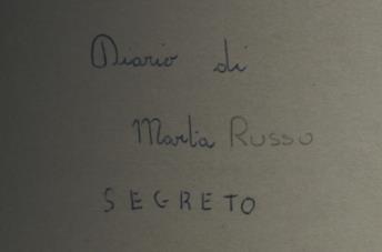 I diari di Marta Russo in una scena del docufilm Marta - Il delitto della Sapienza