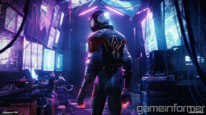 Un costume futuristico per Miles Morales